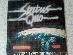 LP Status Quo ‎– Rockin' All Over The World