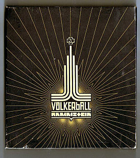 Rammstein 2006 - Volkerball (Ukrainian Records, CD+DVD, Digipak)