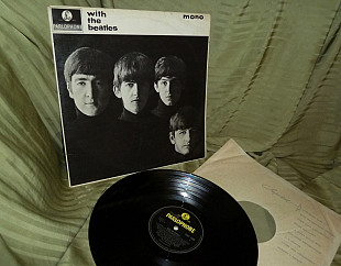 The Beatles With the Beatles 1963 mono Parlophone UK PMC 1206 EX / EX
