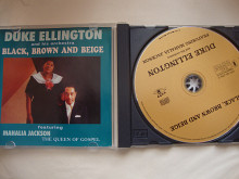 DUKE ELLINGTON BLACK BROWN AND BEIGE