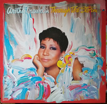 Пластинка Aretha Franklin - Through the Storm (1989, Arista, Germany)