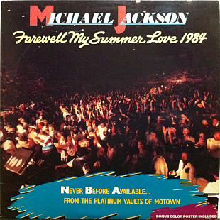 Michael Jackson (Farewell My Summer Love) 1973. (LP). 12. Vinyl. Пластинка+ Плакат. Комплект. German