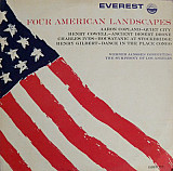 Werner Janssen conducting Symphony of Los Angeles, The* - Four American Landscapes (LP, Mono)