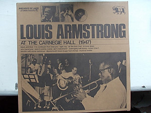 LOUIS ARMSTRONG-The Carnegie Hall