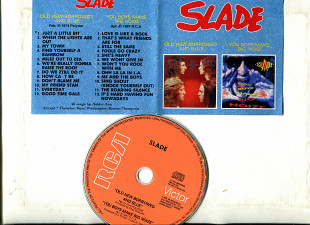 "Продам CD Slade ""Old New Borrowed And Blue"" – 1974 / ""You Boyz Make Big Noise"" – 1987"