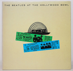The Beatles ‎– At The Hollywood Bowl (G/F/EMTY 4) 1977 Parlophone UK NM-/NM- insert