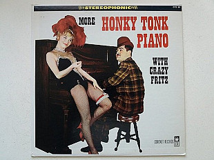 Crazy Fritz ‎– More Honky Tonk Piano With Crazy Fritz