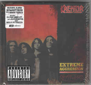Продам фирменный CD Kreator - Extreme Aggression (1989)/2017 - 2CD - DG_BOOK - NOISE2CD023 - seal