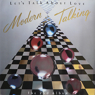 Modern Talking - Let's Talk About Love (1985) NM/NM