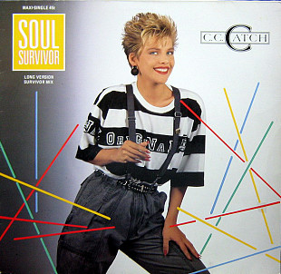 C.C. Catch (Soul Survivor / Long Version Survivor Mix) 1987. (LP). 12. Vinyl. Пластинка. Germany.