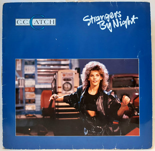 C.C. Catch ‎ (Strangers By Night) 1986. (LP). 12. Vinyl. Пластинка. Germany.
