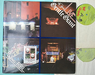 GENTLE GIANT - Playing The Fool , 2lp / CHRYSALIS CTY 1133, UK , m/m-