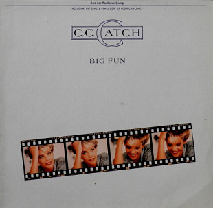 C.C. Catch ‎ (Big Fun) 1988. (LP). 12. Vinyl. Пластинка. Germany.