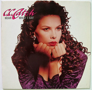C.C. Catch ‎ (Hear What I Say) 1989. (LP). 12. Vinyl. Пластинка. Germany.