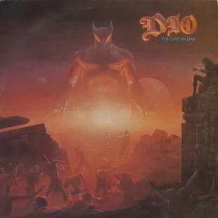 Dio (The Last In Line) 1984. (LP). 12. Vinyl. Пластинка. Bulgaria.