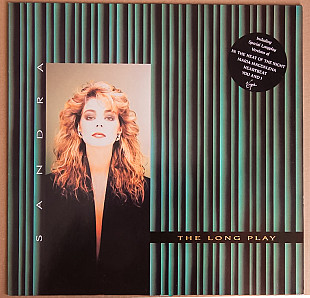 Sandra ‎– The Long Play (+stiker) 1985 Virgin Ger NM-/NM- insert