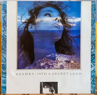 Sandra ‎– Into A Secret Land 1988 Virgin Ger NM-/NM- insert