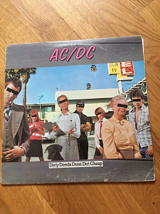 Винил AC/DC Dirty Deeds Done Dirt Cheap VG+/EX