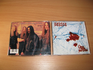DEICIDE - Once Upon The Cross (1995 Roadrunner 1st press, USA)