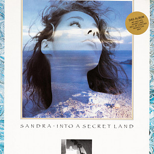 Sandra ‎–Into A Secret Land (3-ий студийный альбом 1988) Audio CD диск в формате Mini LPs