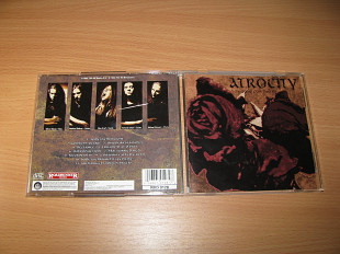 ATROCITY - Todessehnsucht / Longing For Death (1992 Roadrunner 1st press, USA)