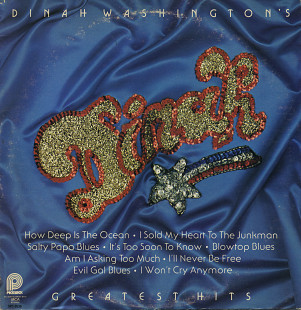 "Dinah Washington ‎– ""Dinah Washington's Greatest Hits"" (US)"