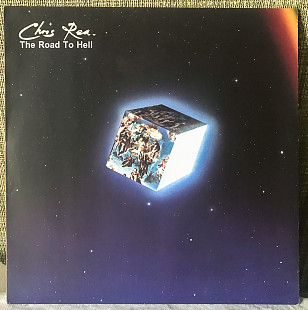 Chris Rea ‎– The Road To Hell (+stiker) 1989 Magnet Ger NM-/EX+ insert