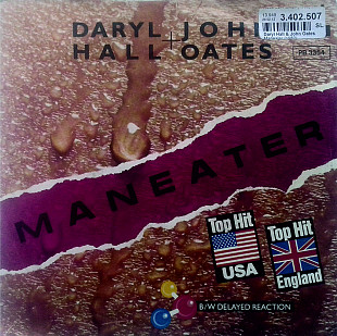 Daryl Hall + John Oates - Maneater \ Delayed Reaction