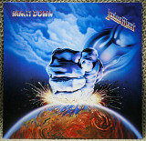 Judas Priest ‎– Ram It Down (+stiker) 1988 CBS Holl NM-/NM- insert