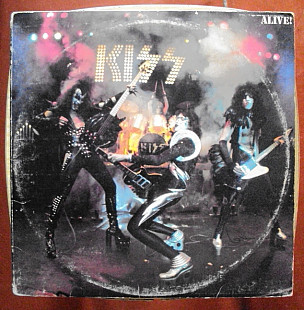 "Kiss ‎ ""Alive!"" - 2 LP"