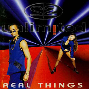 2 Unlimited - Real Things (1994) EX+/NM-