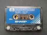 Sharp, Sanyo Demonstration Tape
