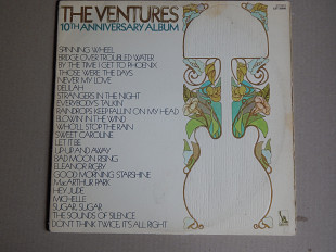 The Ventures ‎– 10th Anniversary Album (Liberty ‎– LST 35000, US) EX+/VG/VG