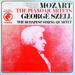 Mozart* – George Szell with members of The Budapest String Quartet* - The Piano Quartets (LP, Mono,