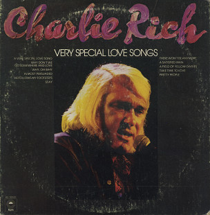 "Charlie Rich ‎– ""Very Special Love Songs"" (US 1974)"