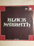 Блэк Саббат ‎– Black Sabbath LP 1990 Мелодия NM\NM