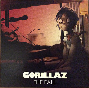 Gorillaz ‎ (The Fall) 2010. (LP). 12. Vinyl. Пластинка. U.S.A. S/S. Запечатанное.