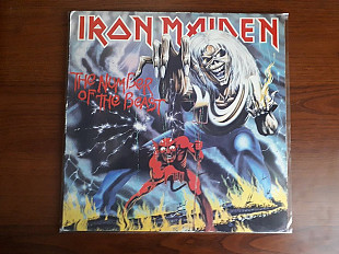 Iron maiden - The number of the beast - 1st press UK