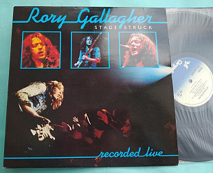 RORY GALLAGHER - STAGE STRUCK, 1980 / CHRYSALIS , UK , m/m