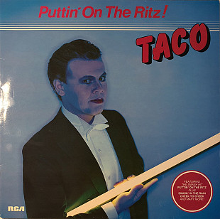 TACO Puttin' On The Ritz ! (он же After Eight) 1982 Sweden RCA NM-\NM-