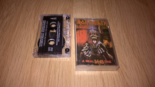 Iron Maiden (A Real Dead One) 1993. (MC). Кассета. Western Thunder. Ukraine.