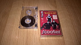 Scooter (No Time To Chill) 1998. (MC). Кассета. Edel Records. Ukraine. Буклет.