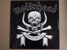 Motörhead ‎– March Ör Die (Epic ‎– 471723 1, Holland) insert NM-/NM-