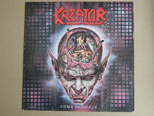 Kreator ‎– Coma Of Souls (Noise International ‎– N 0158-1, Germany) insert EX+/EX+
