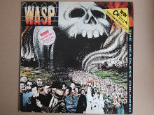 W.A.S.P. - The Headless Children (Capitol Records ‎– EST 2087, UK) insert NM-/NM-