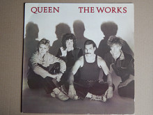 Queen ‎– The Works (EMI ‎– 64 2400141, Italy) insert EX+/NM-
