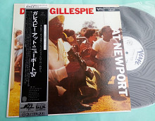 Dizzy Gillespie — AT NEWPORT / Verve ‎– MV 2604 , Japan , promo, m/m OBI