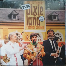 Пластинка Internationales Dixieland Festival Dresden 85/86 Jazz (Amiga, Germany) Состояние! Новая!