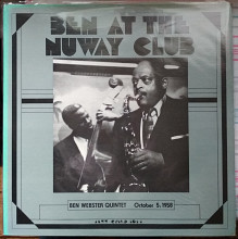 Пластинка Ben Webster Quintet - Ben at the Nuway Club (Jazz Guild, 1958, Canada)