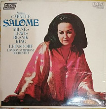 Strauss Caballe Leinsdorf London Symphony Orchestra - Salome 2LP + box (RCA Victrola, Germany, 1982)